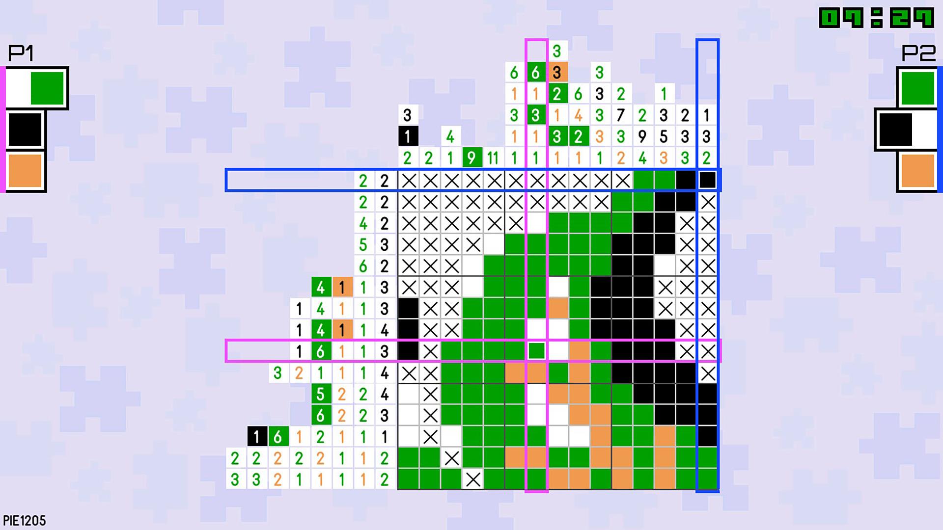 Pic-a-Pix Pieces скриншот 3