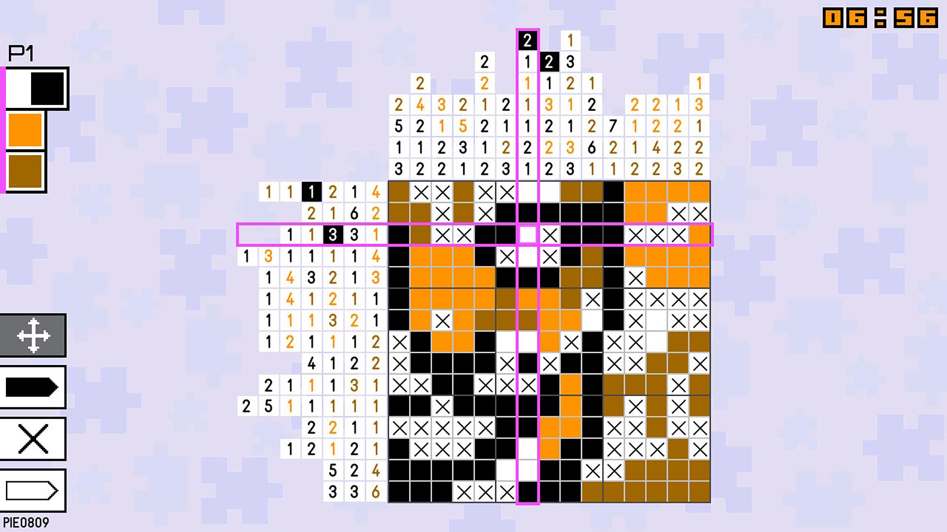 Pic-a-Pix Pieces скриншот 1