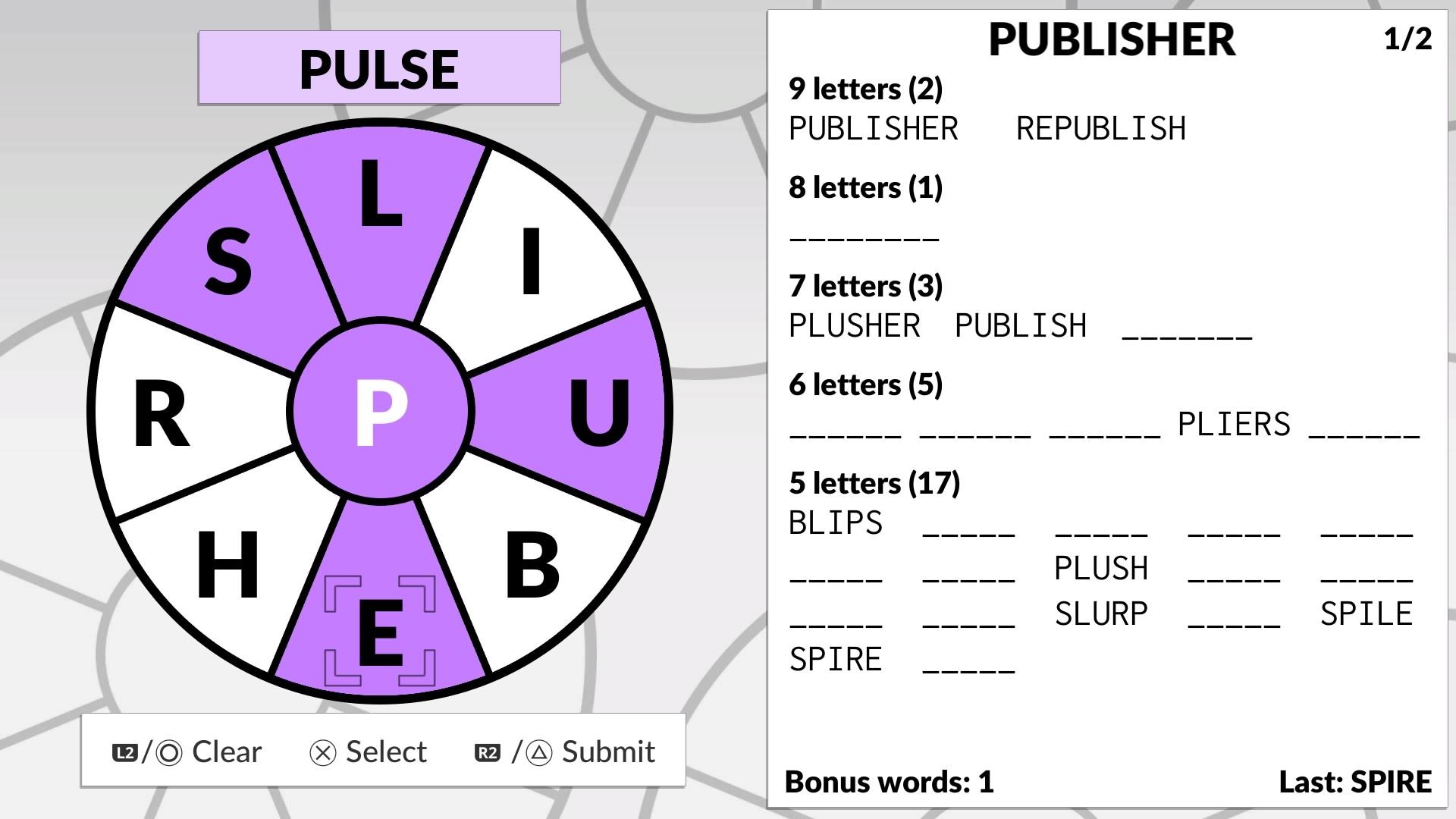 Скриншот №4 к Word Wheel by POWGI