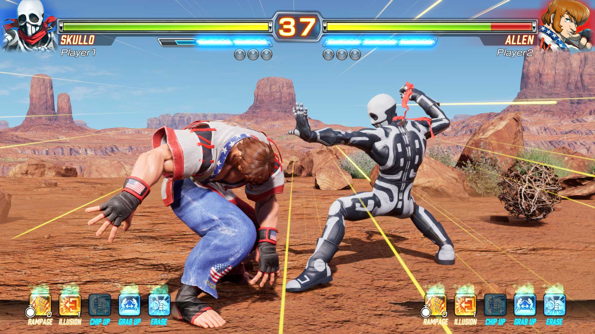 Скриншот №3 к FIGHTING EX LAYER Standard Version