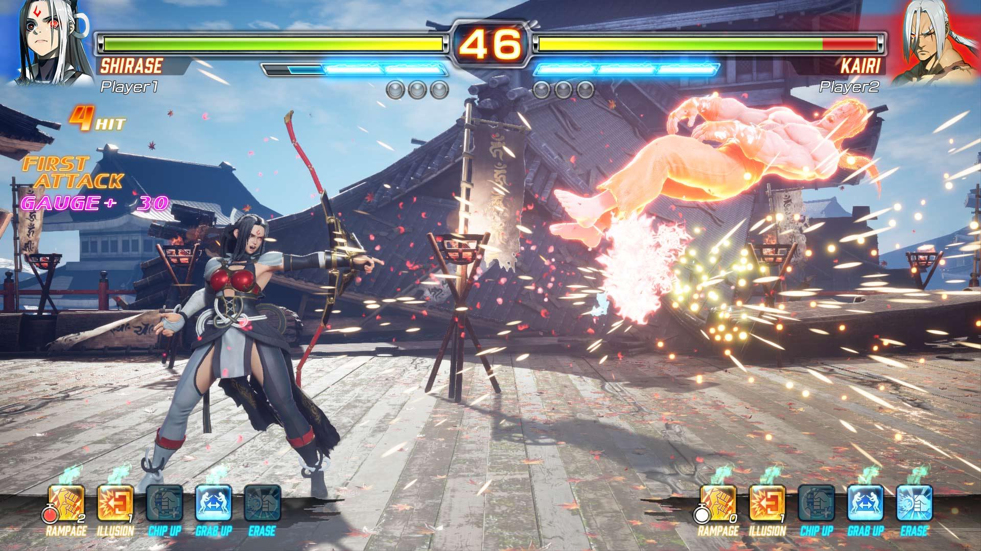 Скриншот №1 к FIGHTING EX LAYER Standard Version