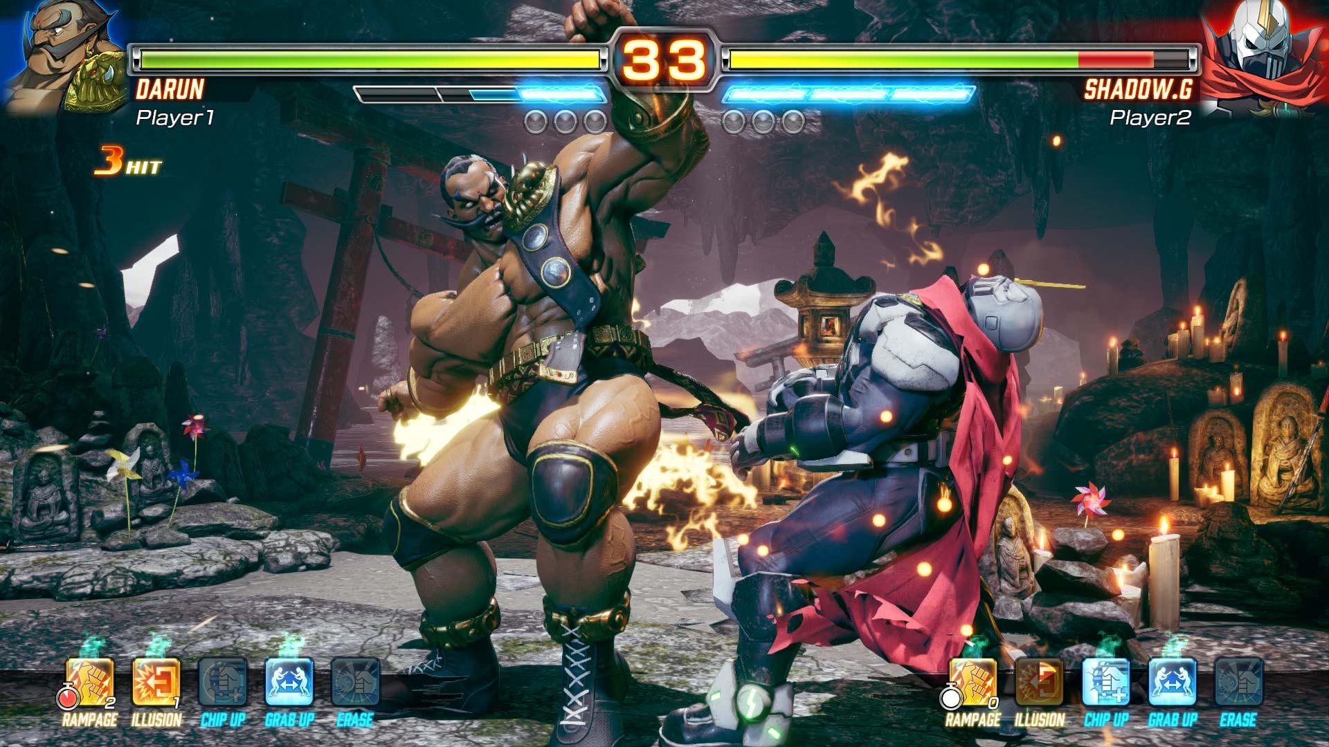 Скриншот №2 к FIGHTING EX LAYER Standard Version