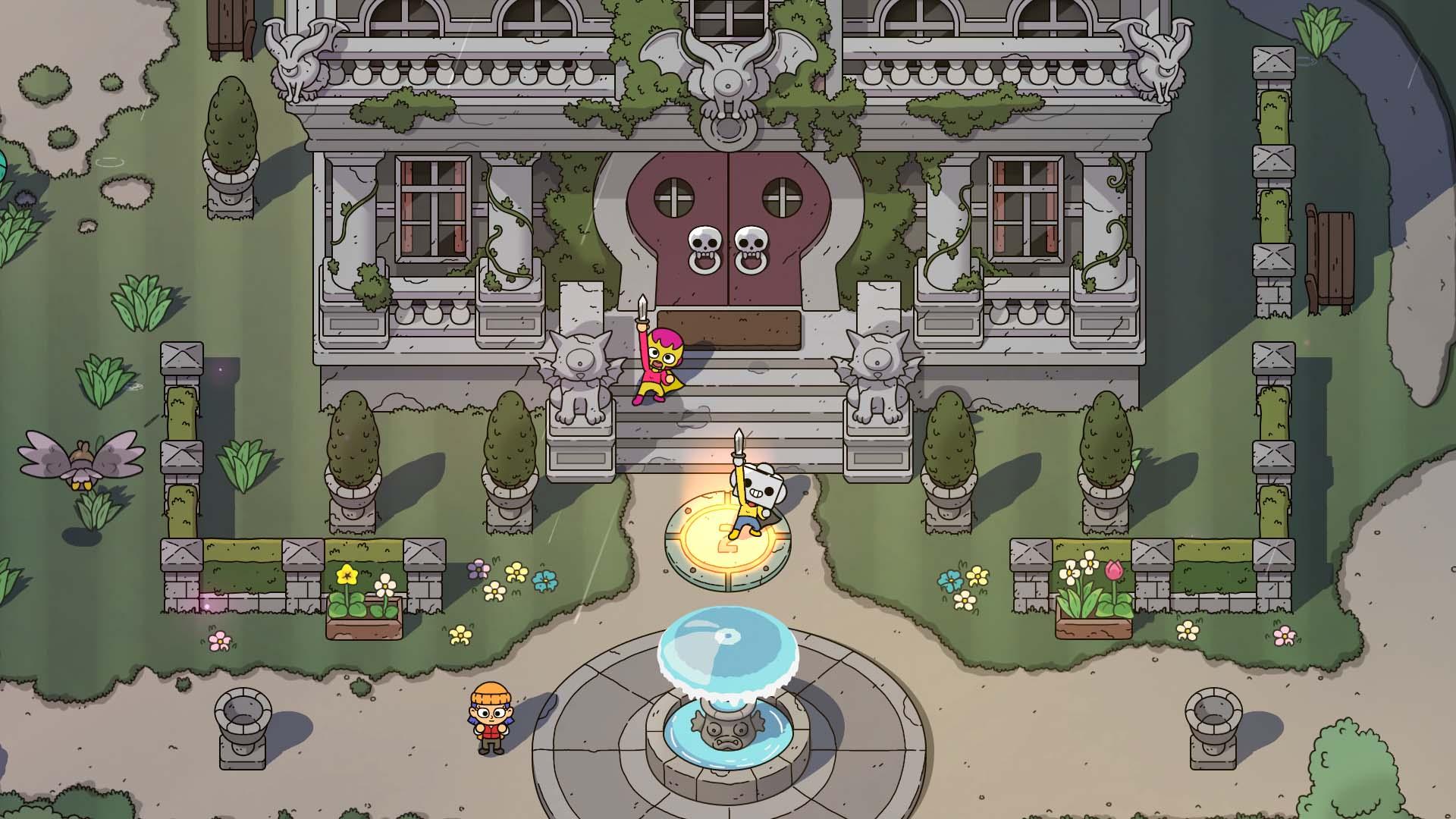 The Swords of Ditto: Mormo's Curse скриншот 2