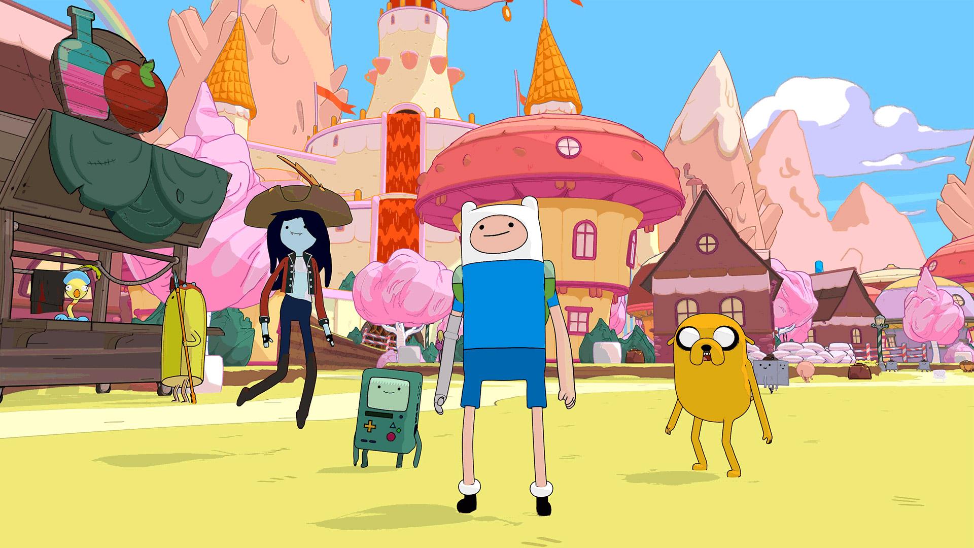 Скриншот №1 к Adventure Time Pirates of the Enchiridion