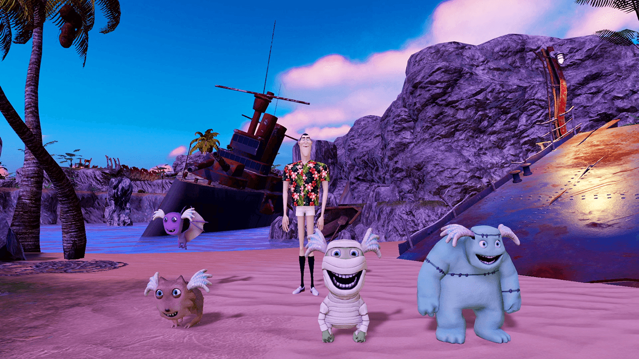 Hotel Transylvania 3 Monsters Overboard скриншот 2