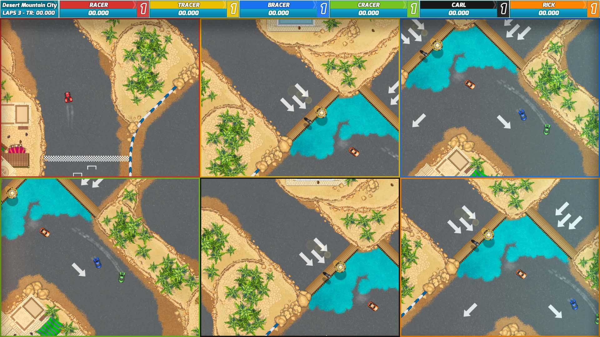 Race Arcade скриншот 3