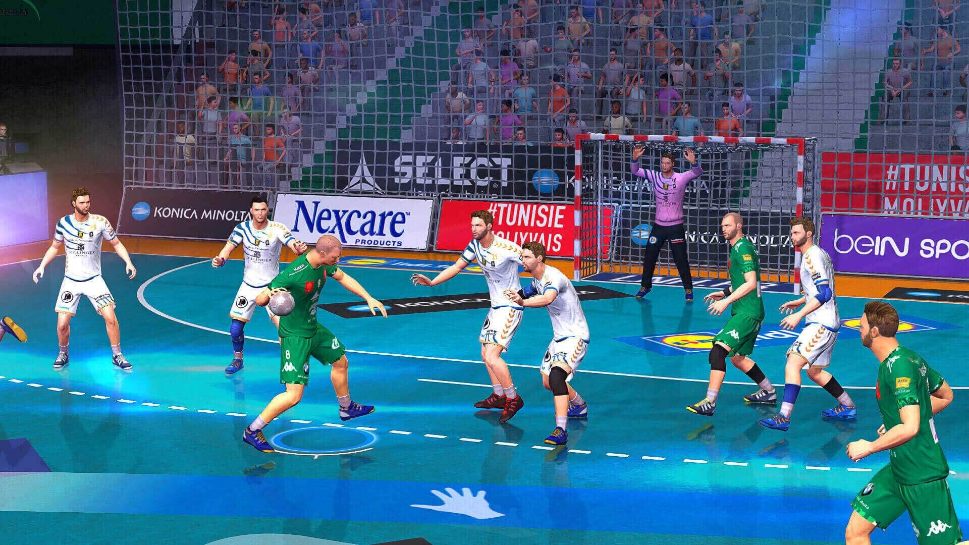 handball 16 sisteminde ps4 resmi playstation store t rkiye. Black Bedroom Furniture Sets. Home Design Ideas