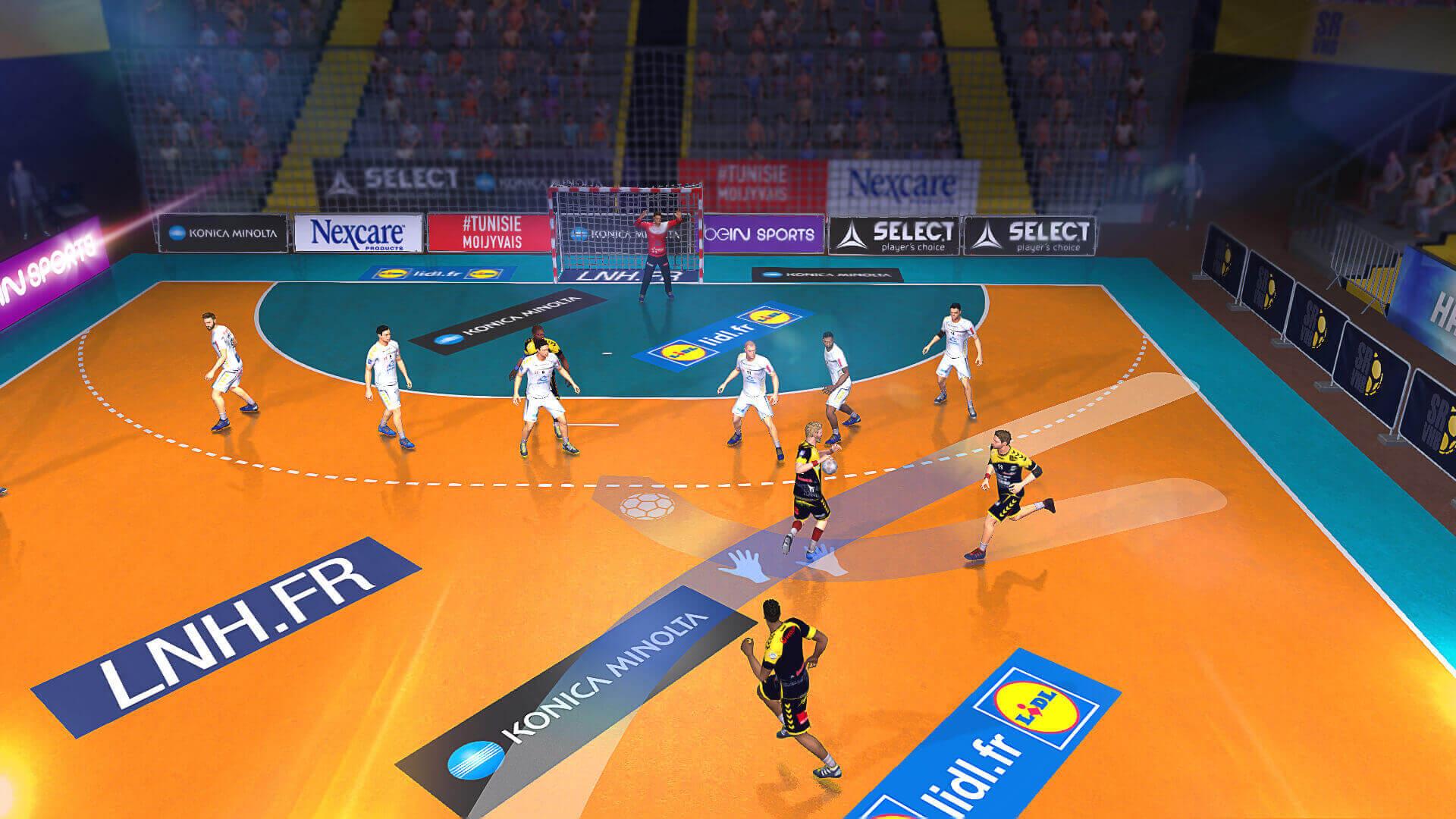 handball 16 sur ps4 playstation store officiel france. Black Bedroom Furniture Sets. Home Design Ideas