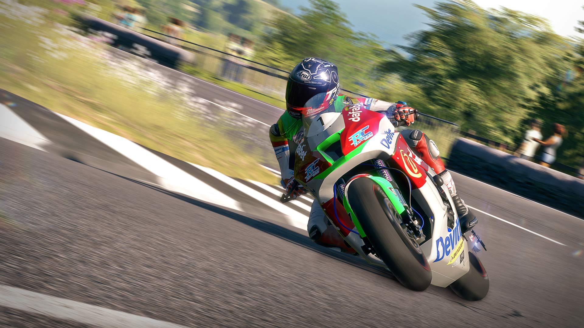 TT Isle of Man - Ride on the Edge скриншот 7