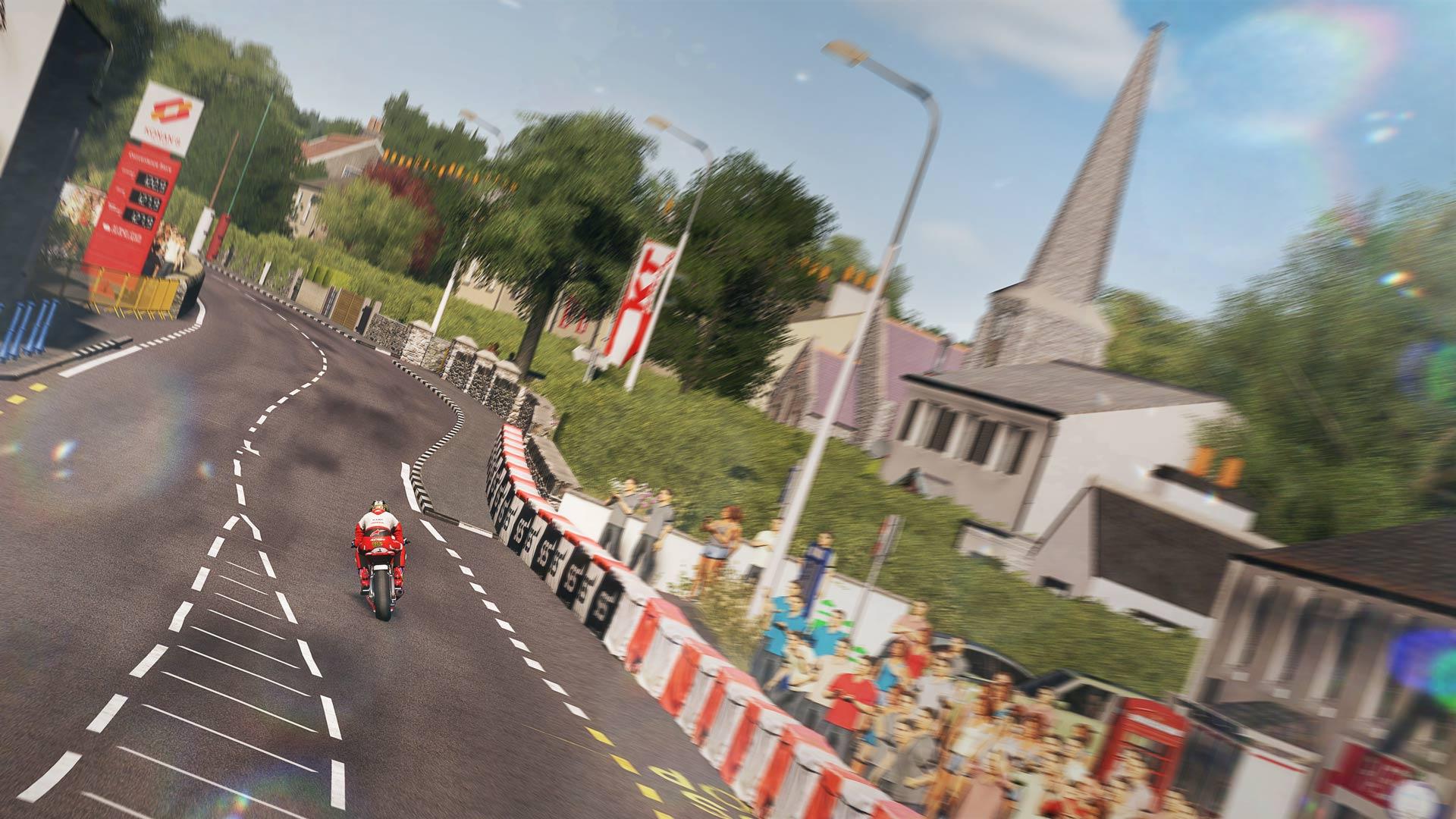 TT Isle of Man - Ride on the Edge скриншот 4