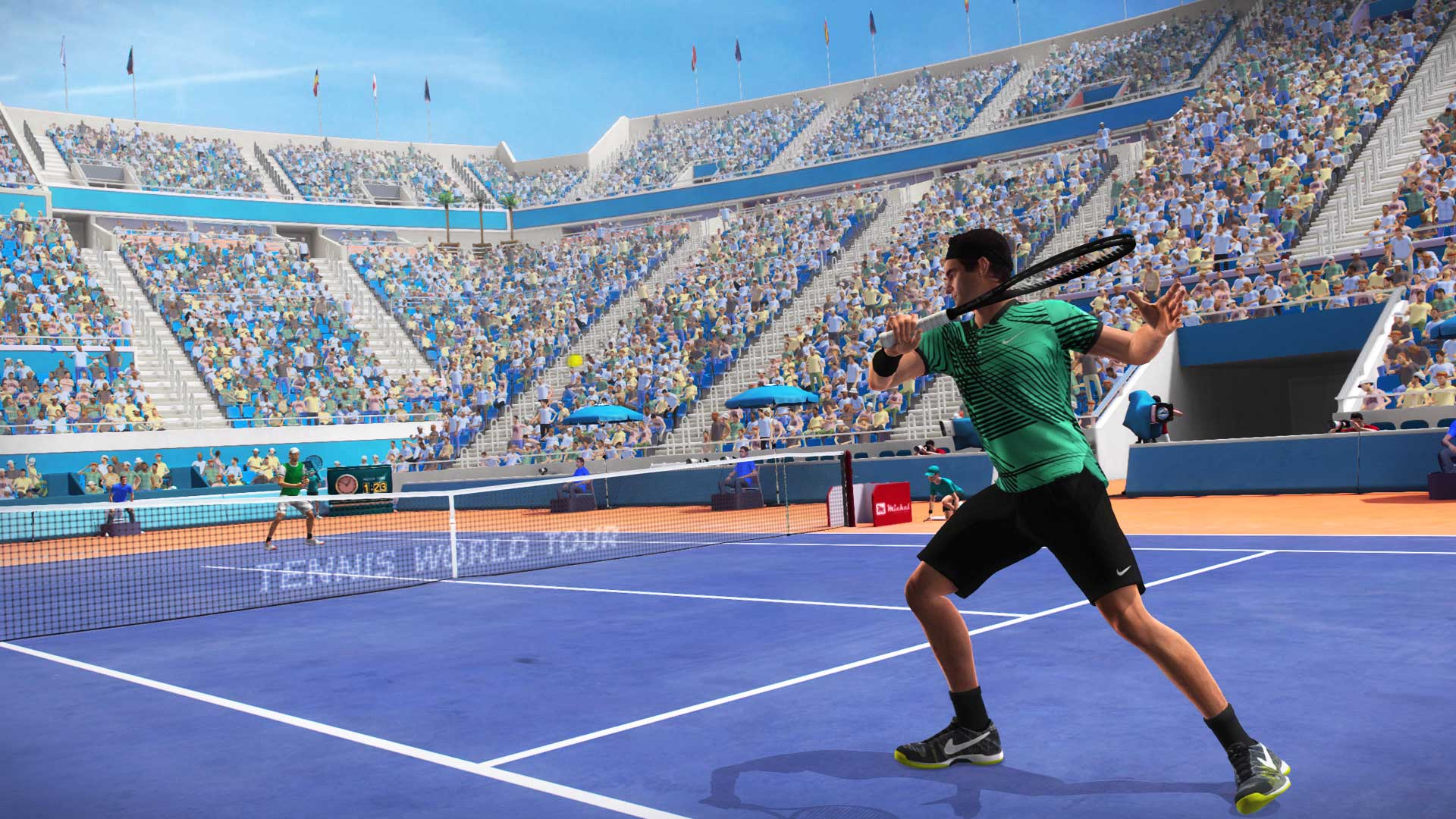 Tennis World Tour скриншот 2
