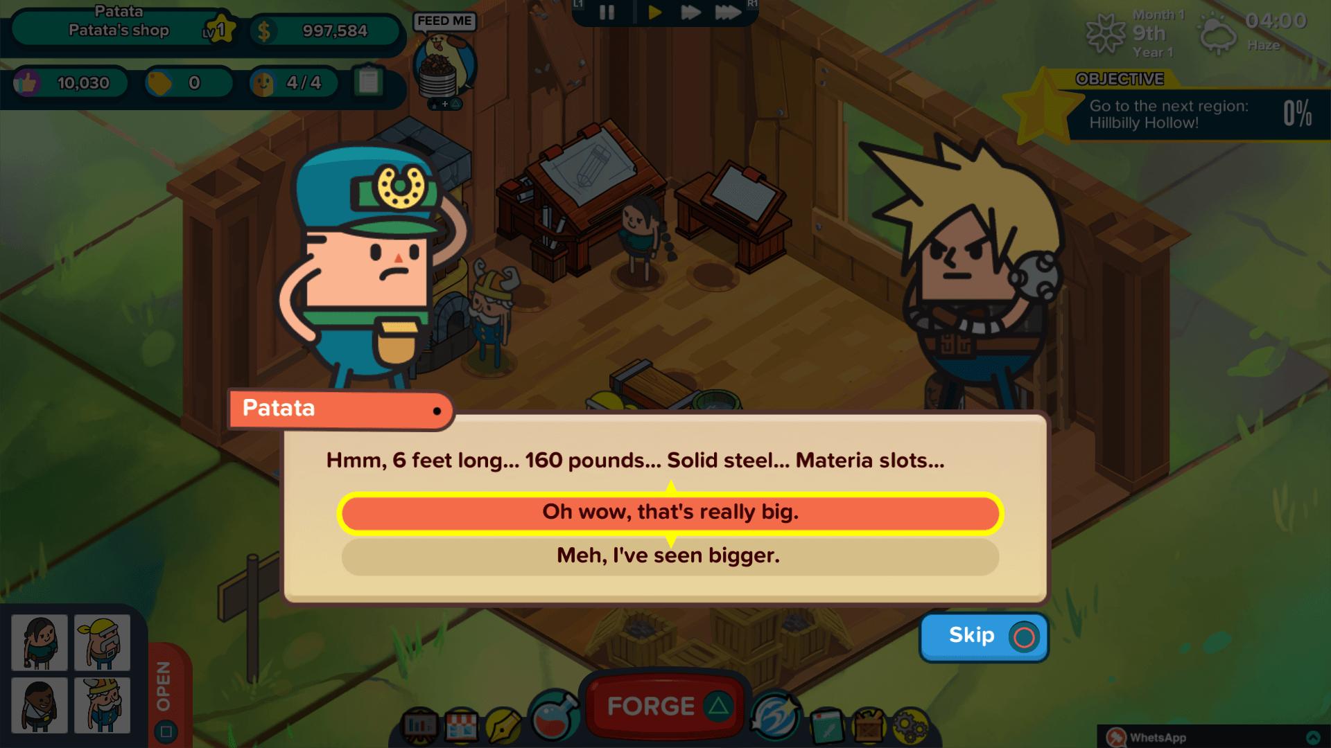 Holy Potatoes! A Weapon Shop?! скриншот 6