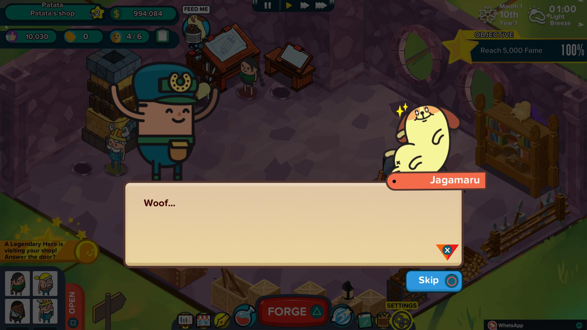 Holy Potatoes! A Weapon Shop?! скриншот 1