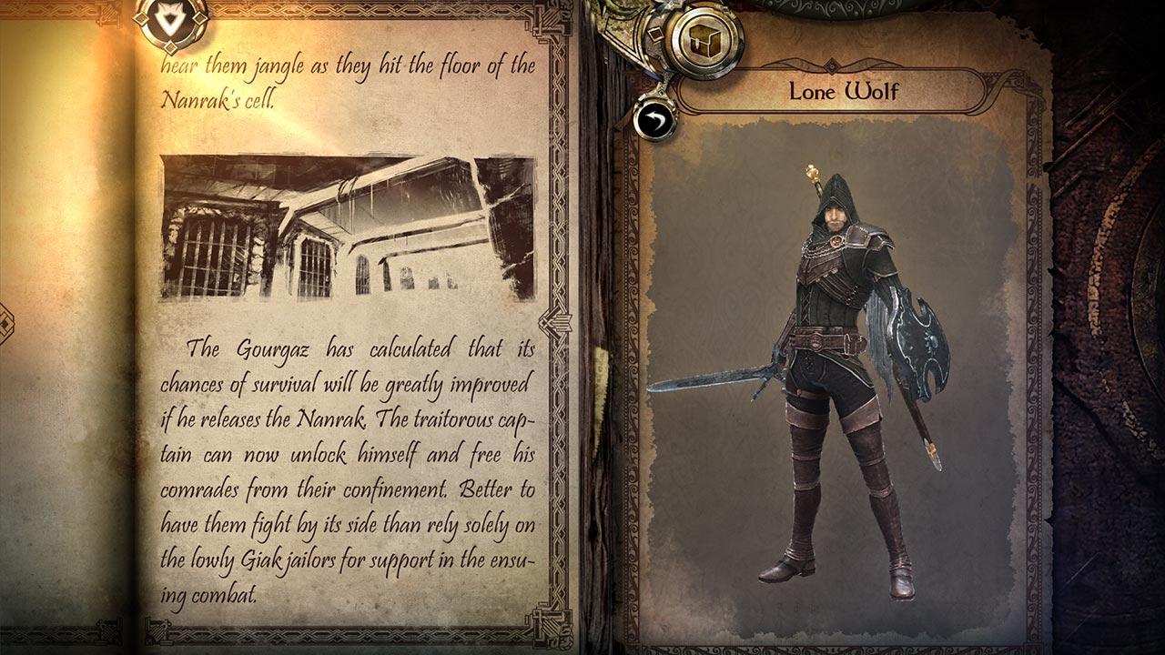 Joe Dever's Lone Wolf Console Edition скриншот 5