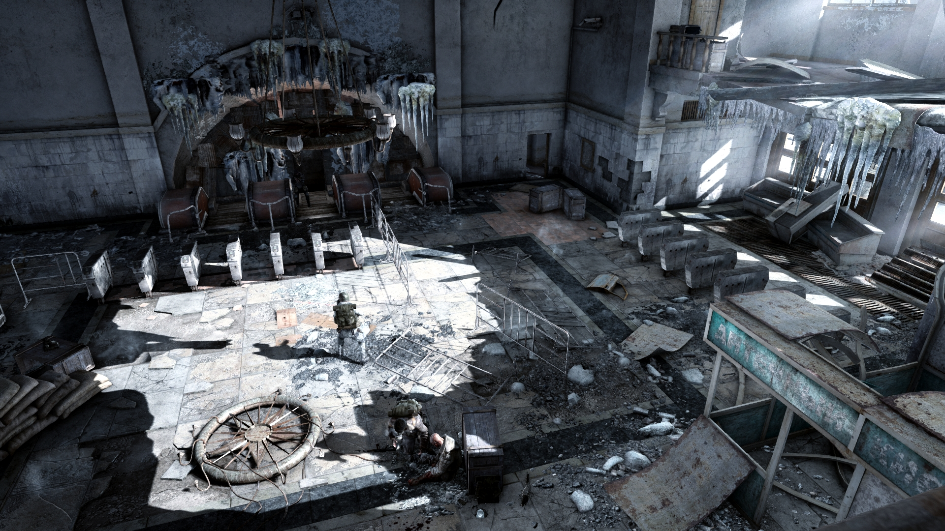 Скриншот №2 к Metro 2033 Redux