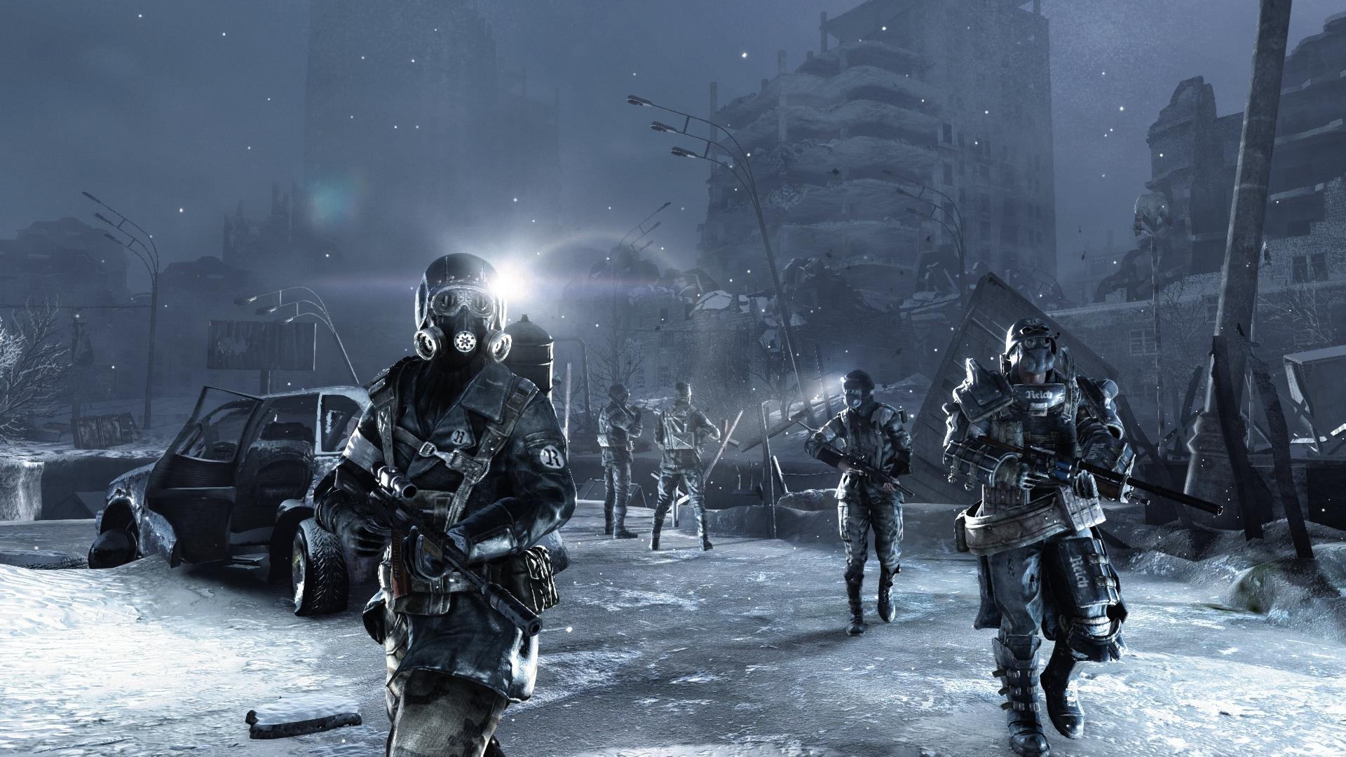 Скриншот №3 к Metro 2033 Redux