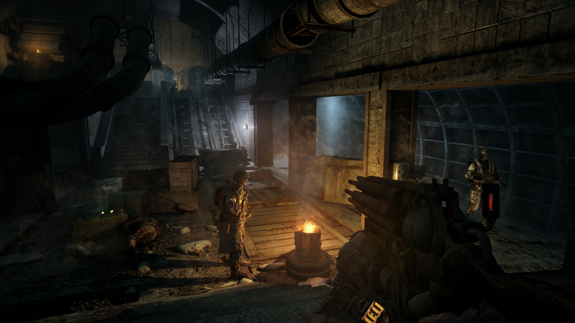 Скриншот №7 к Metro 2033 Redux