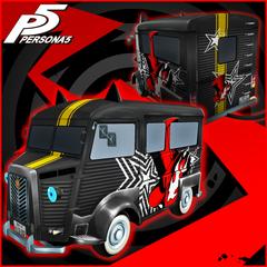 Persona 5 - Phantom Thieves Logo Morgana Car Sticker