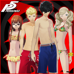 Persona 5 - Swimsuit Set