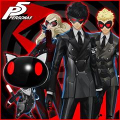 Persona 5 - Persona 4 Arena Ultimax Costume & BGM Special Set