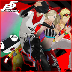 Persona 5 - P4: Dancing All Night Costume & BGM Special Set