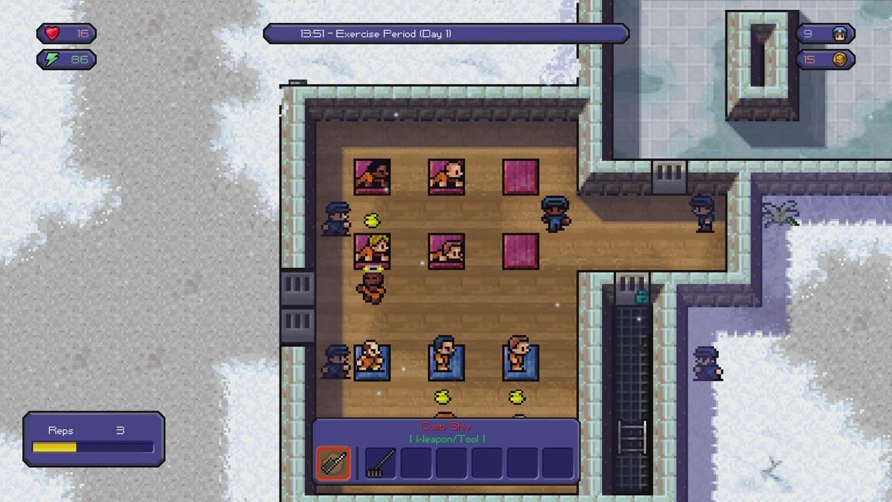 Скриншот №4 к The Escapists