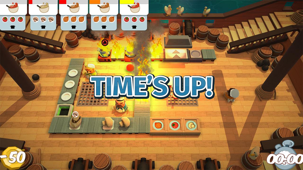 Скриншот №1 к Overcooked Gourmet Edition