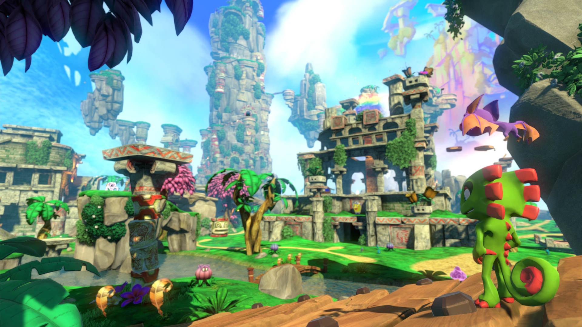 Скриншот №5 к Yooka-Laylee