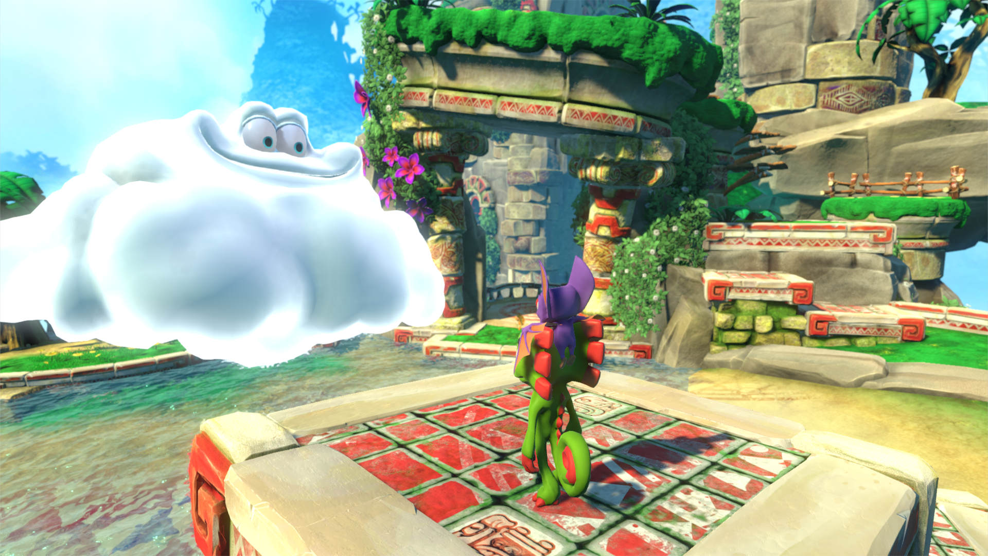Скриншот №8 к Yooka-Laylee
