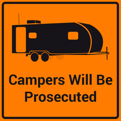 AVATAR CAMPERS WILL BE PROSECUTED