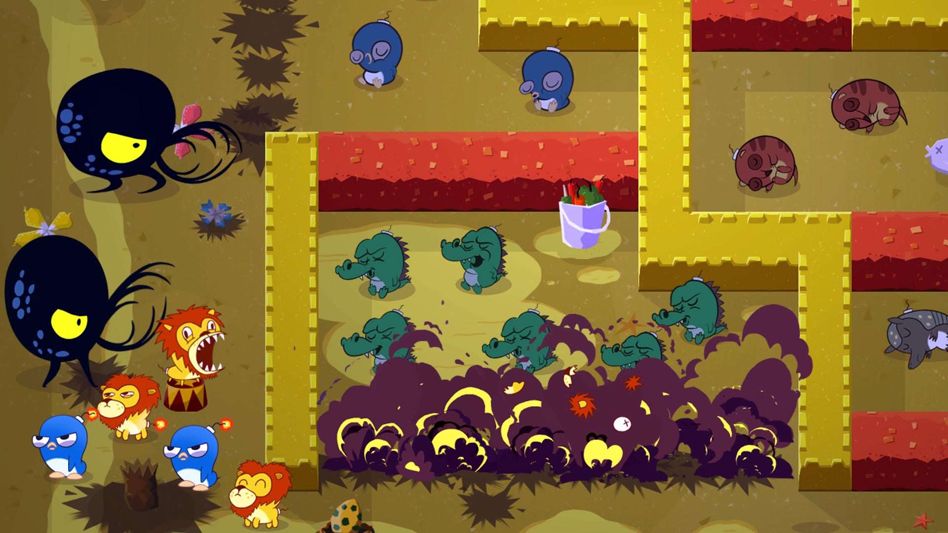 Скриншот №10 к Super Exploding Zoo!
