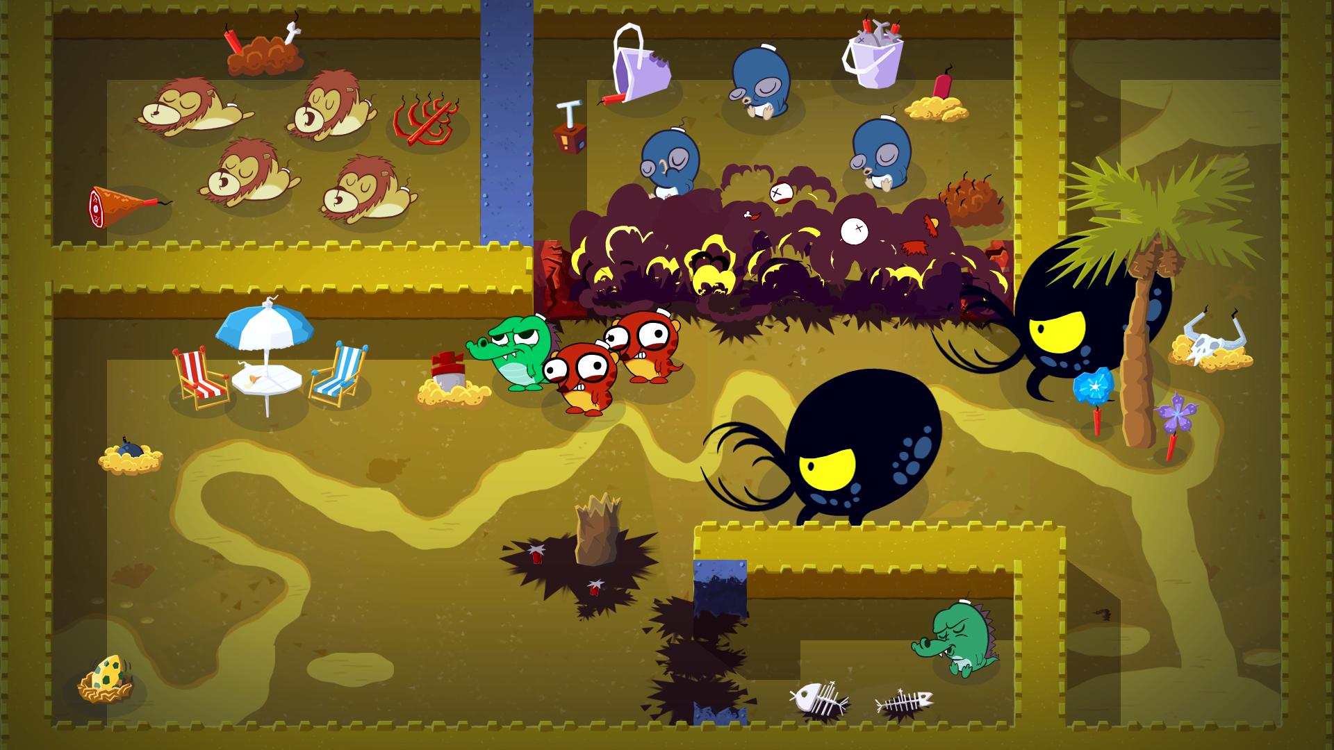 Скриншот №7 к Super Exploding Zoo!