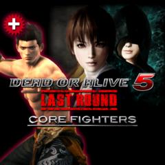 DOA5LR Core Fighters + Jann Lee