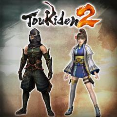 Toukiden 2: armadura fato Hayatori/fato Horo