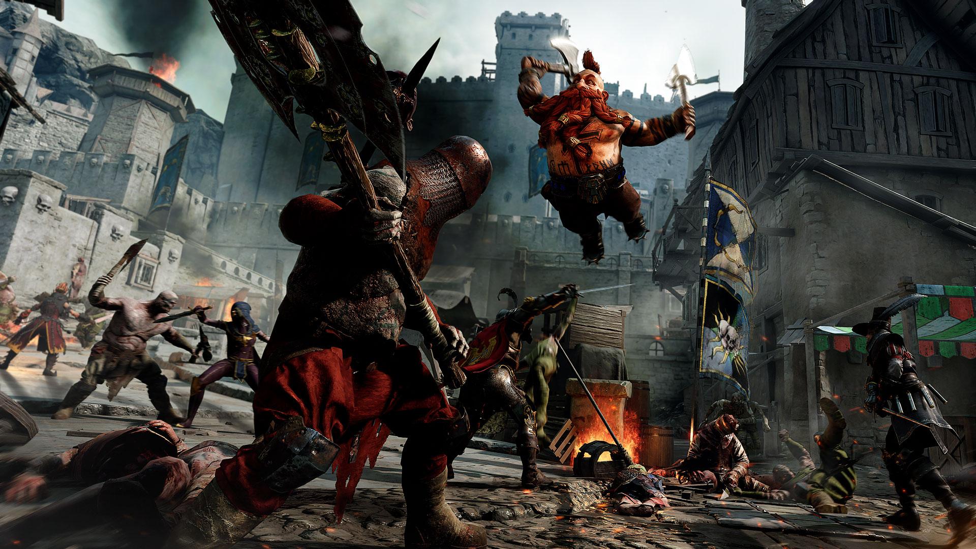 Скриншот №2 к Warhammer Vermintide 2 - Closed Beta