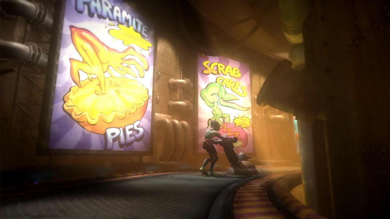Скриншот №7 к Oddworld New n Tasty PS4