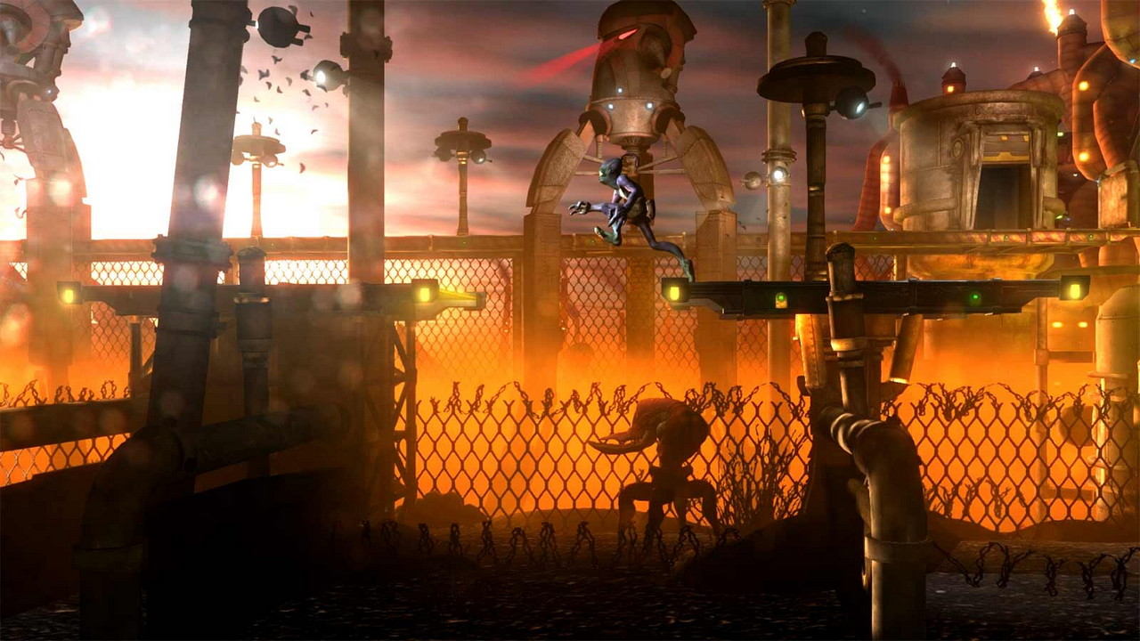 Скриншот №3 к Oddworld New n Tasty PS4