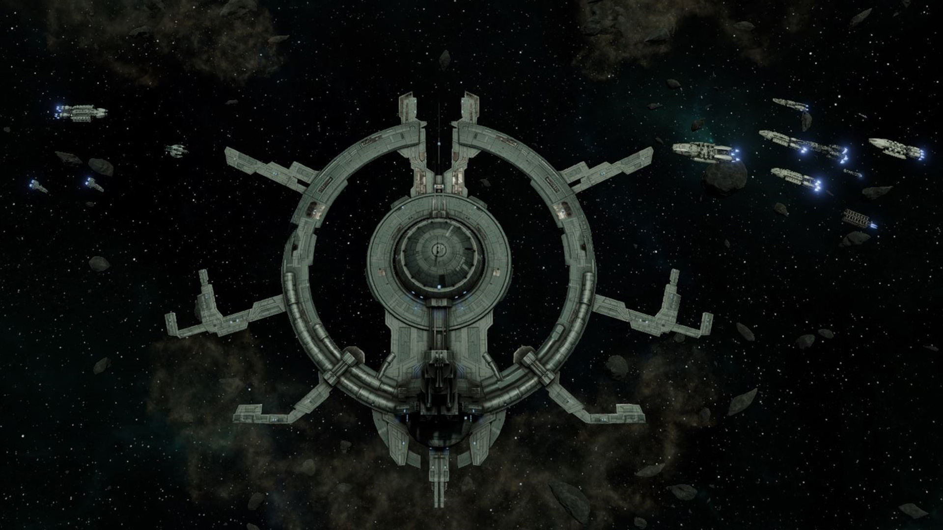 In Battlestar Galactica Deadlock you'll take command of the Colonial Fleet in defense of the Twelve Colonies during the First Cylon War. Lead many different types of ships in this 3D tactical game.