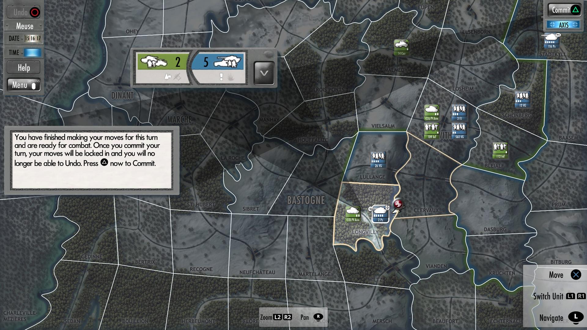 Скриншот №5 к Battle of the Bulge