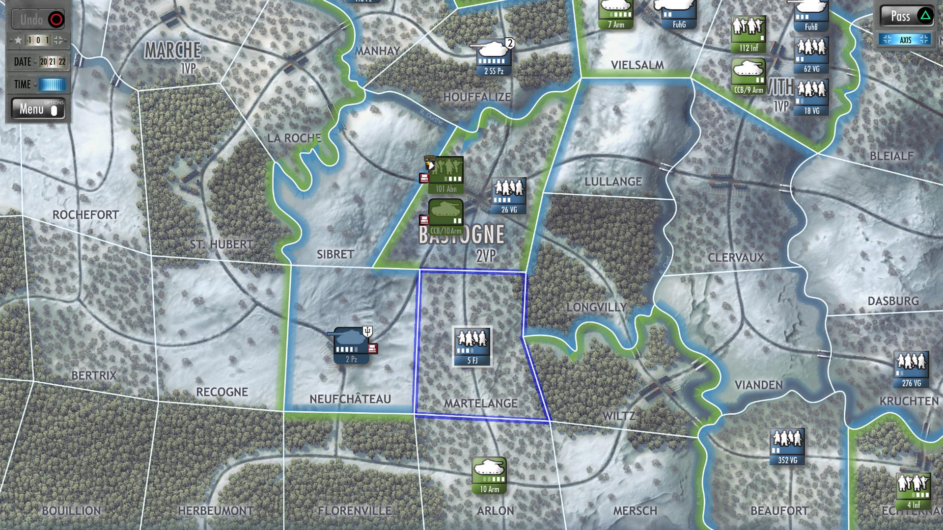Скриншот №9 к Battle of the Bulge