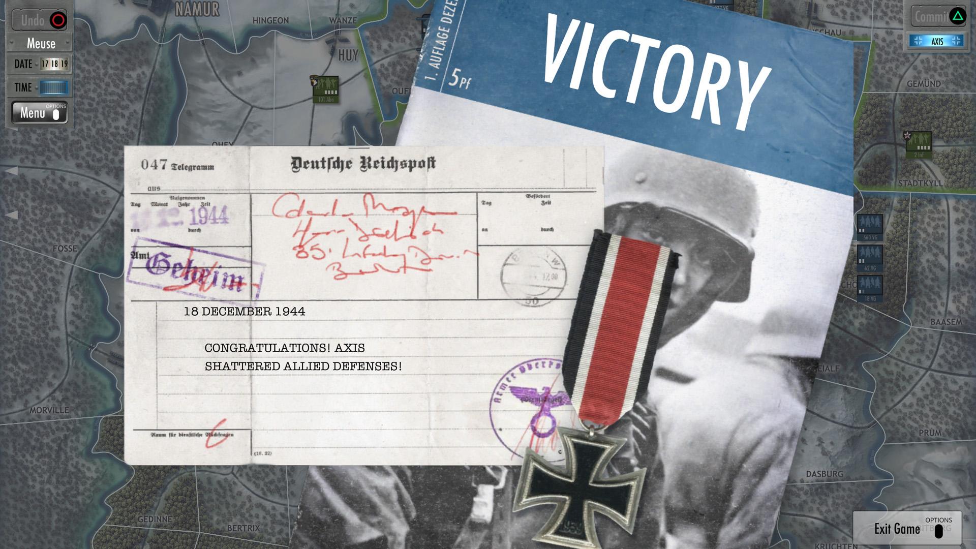 Скриншот №4 к Battle of the Bulge