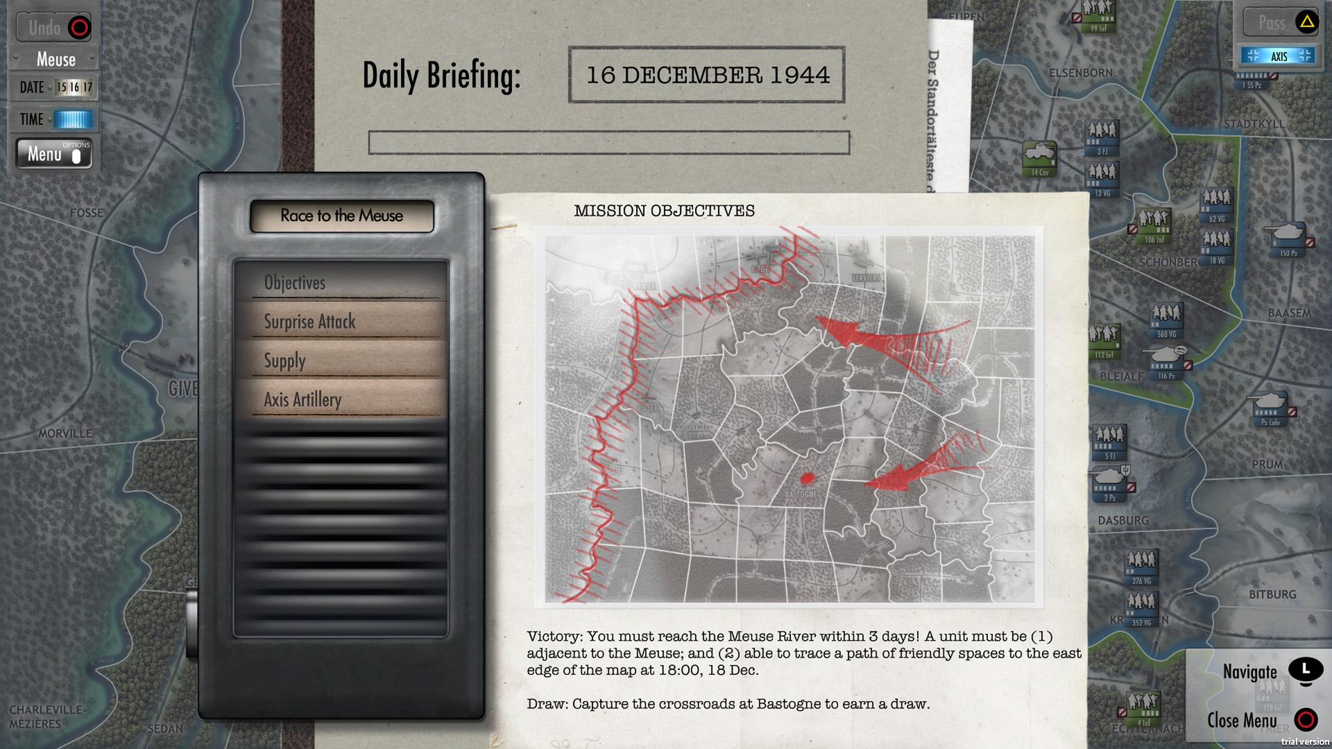 Скриншот №2 к Battle of the Bulge