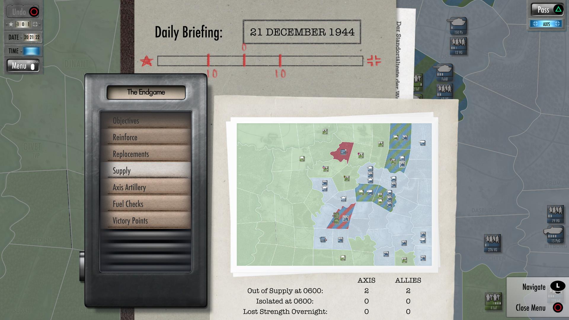 Скриншот №8 к Battle of the Bulge