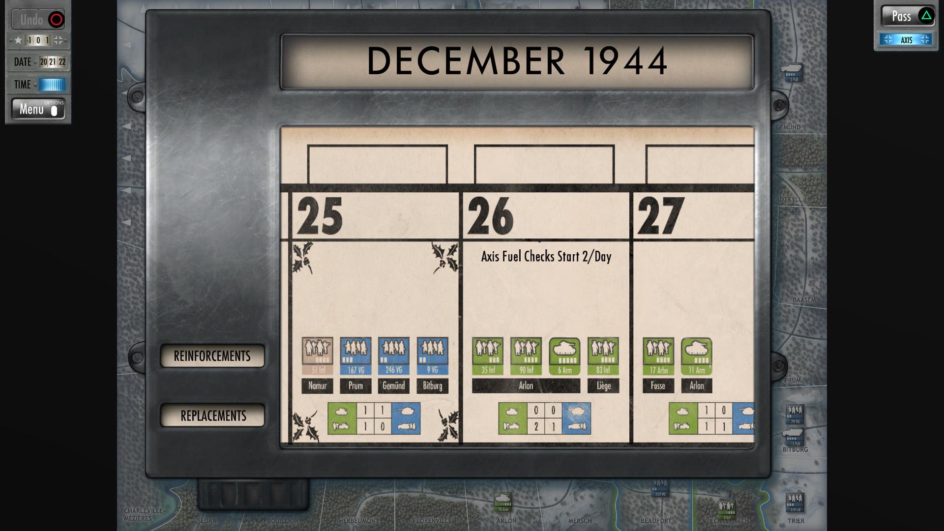 Скриншот №10 к Battle of the Bulge