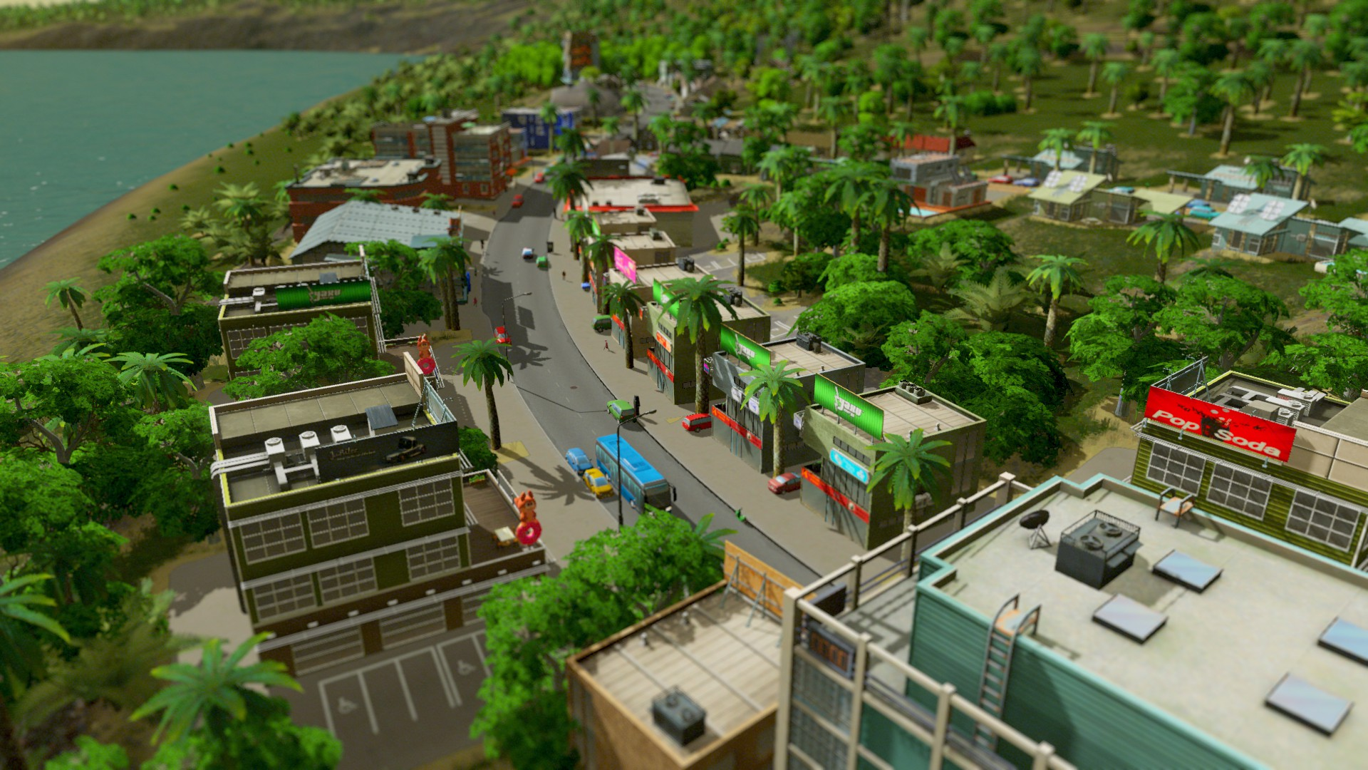 Скриншот №1 к Cities Skylines - Premium Edition 2