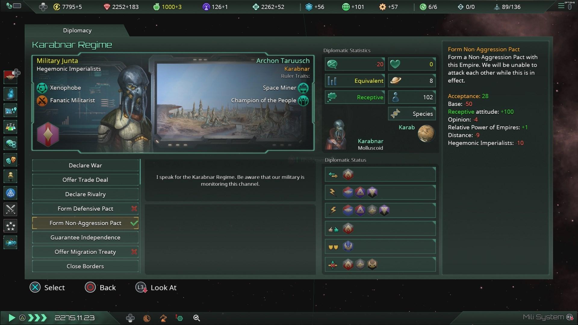 Скриншот №2 к Stellaris Console Edition - Deluxe Edition