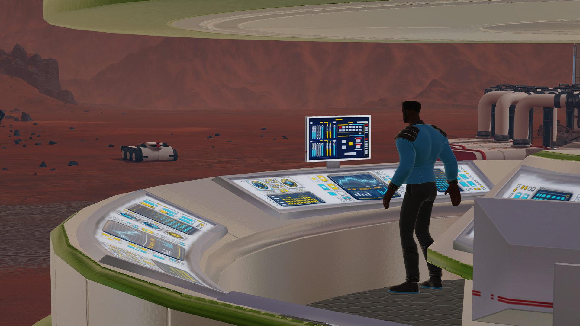 Скриншот №4 к Surviving Mars - Stellaris Dome Set