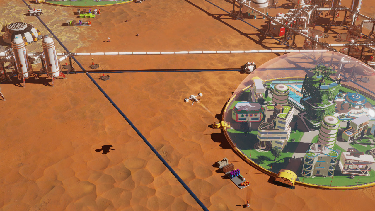 Скриншот №1 к Surviving Mars - First Colony Edition