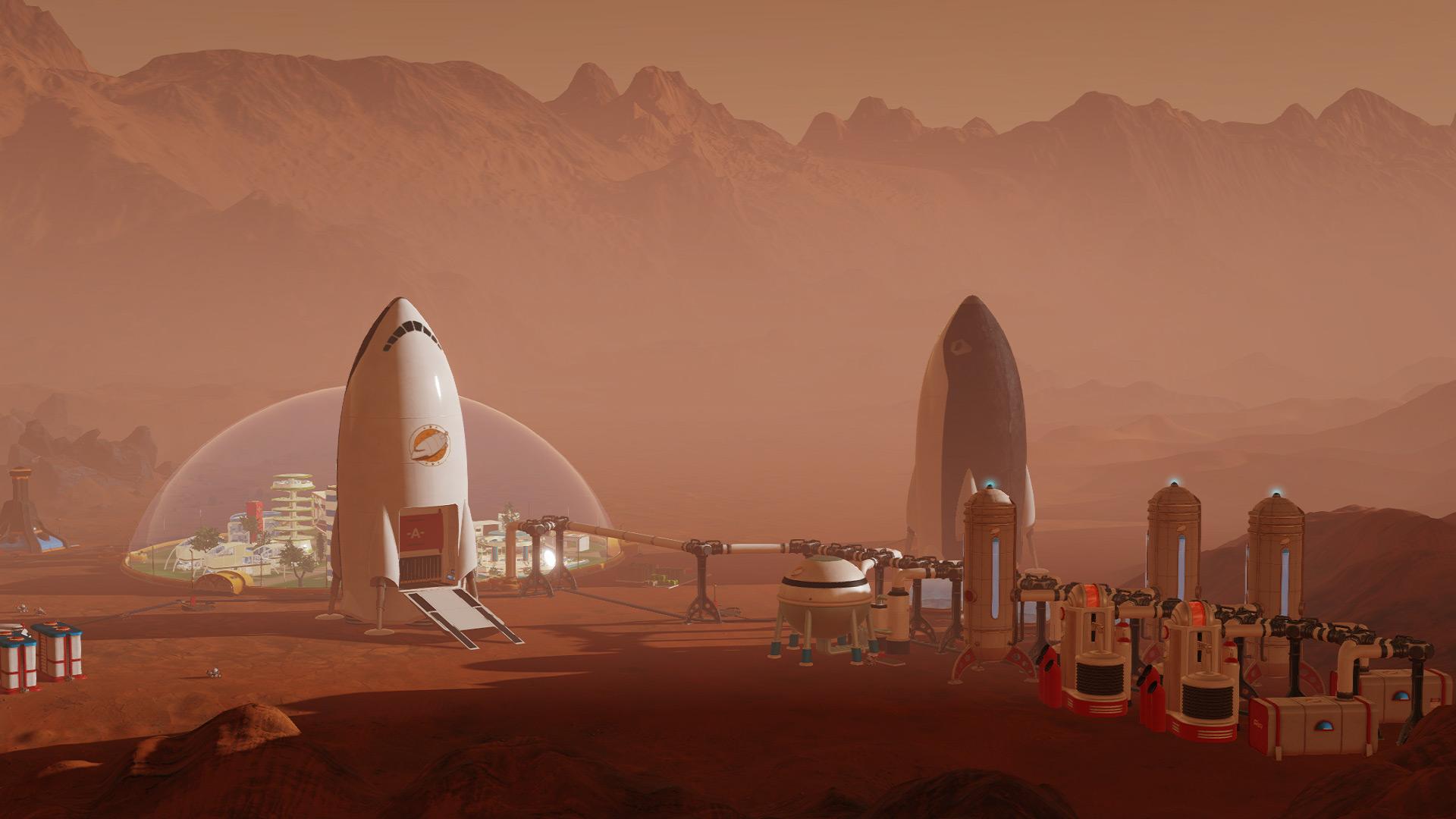 Скриншот №2 к Surviving Mars - Stellaris Dome Set