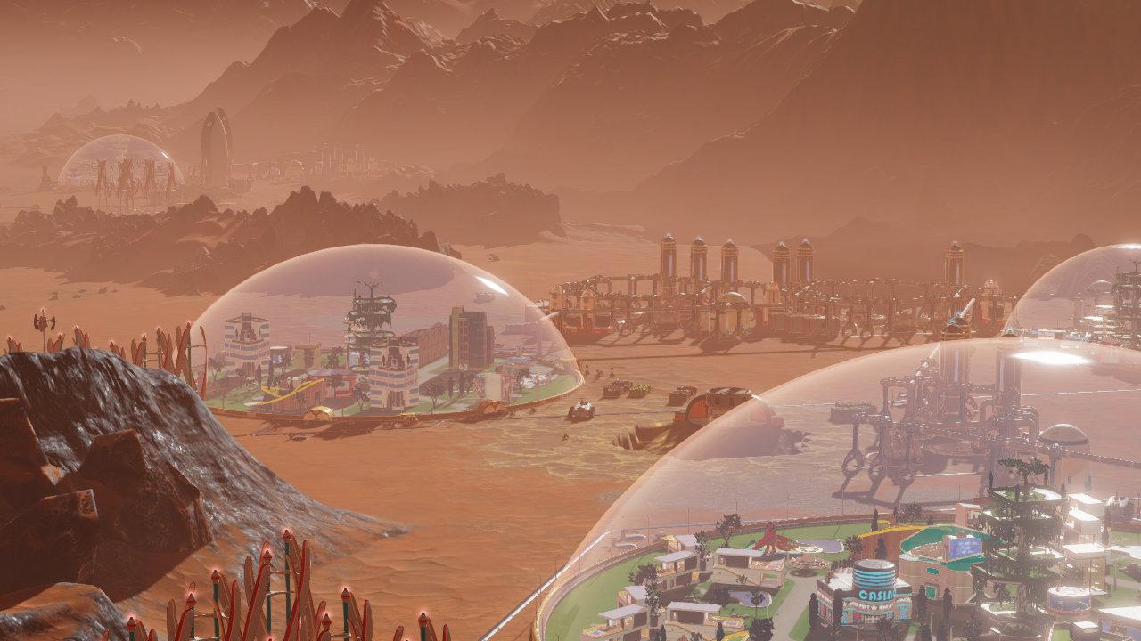 Скриншот №2 к Surviving Mars - First Colony Edition